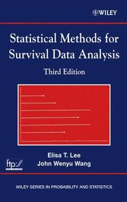 Statistical methods for survival data analysis by Elisa T. Lee