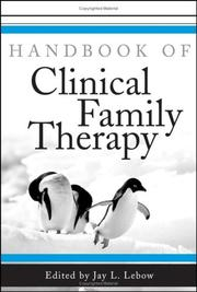 Handbook of Clinical Family Therapy PDF