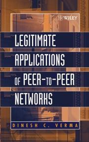 Legitimate Applications of Peer-to-Peer Networks PDF