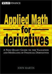 Applied Math for Derivatives PDF