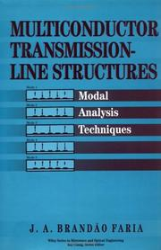 Multiconductor transmission-line structures by J. A. Brando Faria