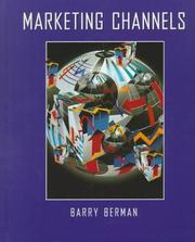 Marketing channels by Barry Berman