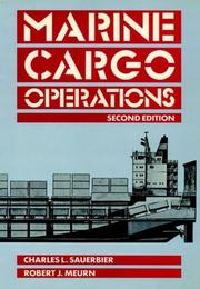 Marine cargo operations by Charles L. Sauerbier