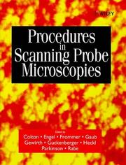 Procedures in Scanning Probe Microscopies PDF