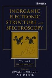 Inorganic electronic structure and spectroscopy
