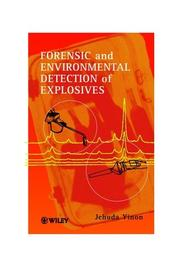 Forensic and environmental detection of explosives PDF