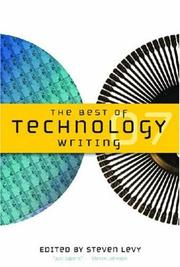 Cover of: Best of Technology Writing 2007 by Steven Levy