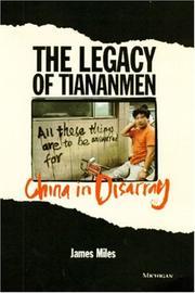 The legacy of Tiananmen PDF