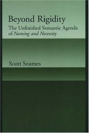 Beyond Rigidity by Scott Soames