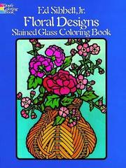 Floral Designs Stained Glass Coloring Book PDF