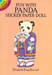 Fun with Panda Sticker Paper Doll PDF