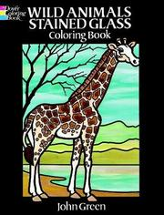 Wild Animals Stained Glass Coloring Book PDF