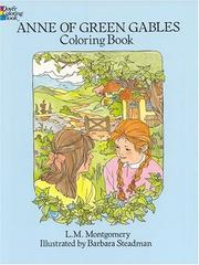 Cover of: Anne of Green Gables Coloring Book by L. M. Montgomery