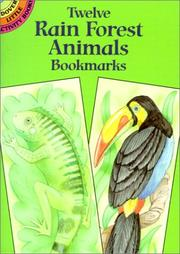 Twelve Rain Forest Animals Bookmarks PDF