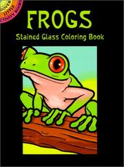 Frogs Stained Glass Coloring Book