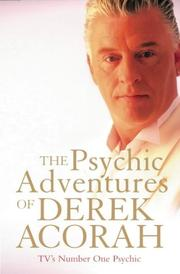 The Psychic Adventures of Derek Acorah by Derek Acorah
