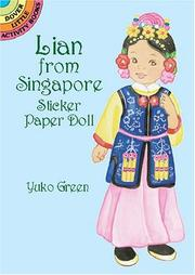 Lian from Singapore Sticker Paper Doll PDF