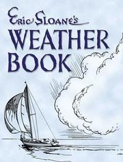 Weather book by Eric Sloane