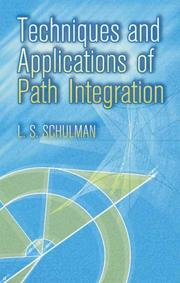 Techniques and applications of path integration PDF