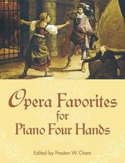 Opera Favorites for Piano Four Hands PDF
