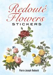 Redoute Flowers Stickers PDF