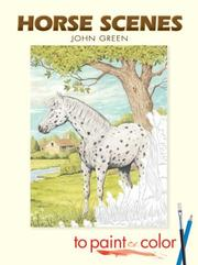 Horse Scenes to Paint or Color PDF