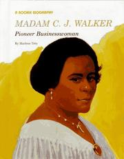 Madam C. J. Walker by Marlene Toby