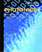 Photonics; optical electronics in modern communications