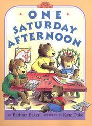 One Saturday morning PDF