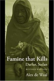 Famine that kills by Alexander De Waal
