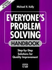 Everyone's problem solving handbook PDF
