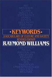 Keywords by Williams, Raymond.