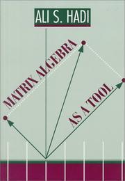 Matrix Algebra as a Tool (Alexander Kugushev) PDF