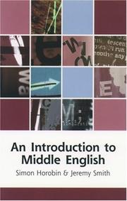 An introduction to Middle English PDF