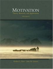 Motivation by Herbert L. Petri