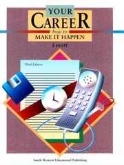 Your career by Julie Griffin Levitt