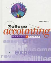 College accounting by James A. Heintz
