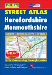 Herefordshire and Monmouthshire: Unique Comprehensive Coverage, Every Named Street, Road and Lane PDF