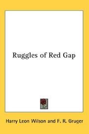 Cover of: Ruggles of Red Gap by Harry Leon Wilson