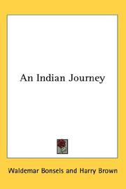 An Indian Journey PDF