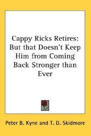 Cappy Ricks Retires PDF