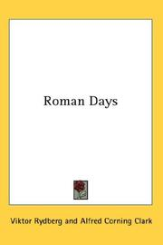 Roman days by Viktor Rydberg