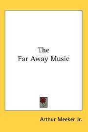 The Far Away Music PDF
