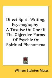 Direct Spirit Writing, Psychography