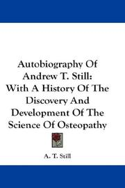 Autobiography of Andrew T. Still PDF