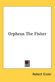 Orpheus--The fisher by Robert Eisler
