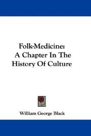 Folk-medicine by William George Black
