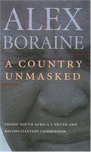 A country unmasked by Alex Boraine