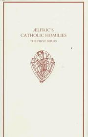 Catholic homilies by Aelfric Abbot of Eynsham.