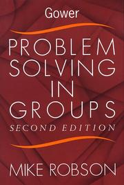Problem-Solving In Groups by Mike Robson